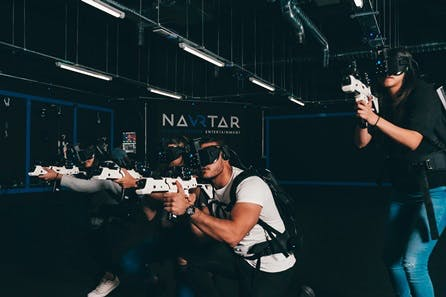 Alien Defence Free-Roam VR Experience for Four