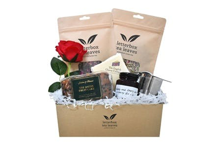Anyone For Tea Box from Letterbox Tea Leaves