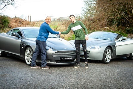 Aston Martin Driving Experience with High Speed Passenger Ride for Two