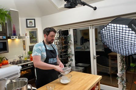 Bake with a Legend at Home with Virtual Masterclass for Two