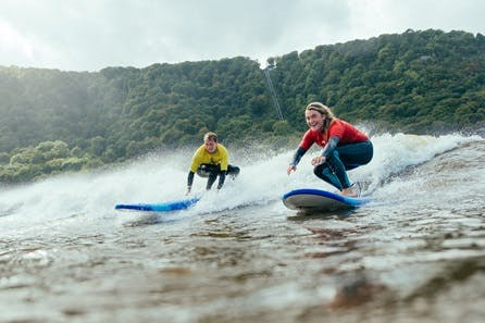 Beginner Surf Lesson at Adventure Parc Snowdonia