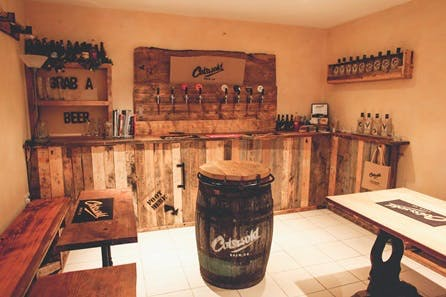 Brewery Tour with Tastings for Two at The Cotswold Brew Co