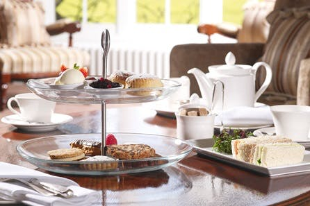 Champagne Afternoon Tea for Two at The Luxury Greenway Hotel and Spa