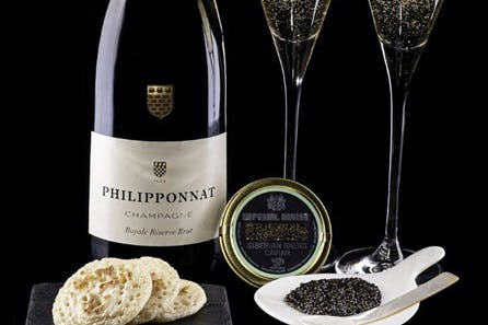 Champagne and Cavier for Two at Arc Le Salon, Mayfair