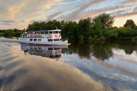 Chester City River Sightseeing Cruise and Finest Wine Tasting at Veeno for Two