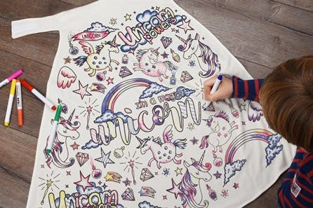 Children's Colour-In Creative Kit - Unicorn Cape