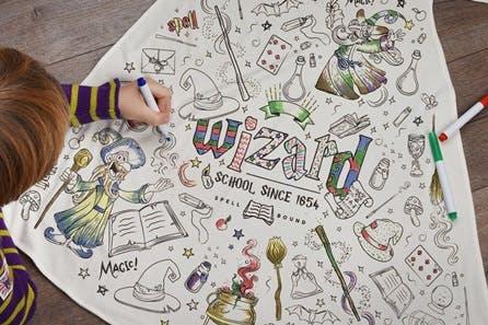 Children's Colour-In Creative Kit - Wizard Cape