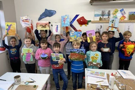 Children's Introductory Art Class with Art-K