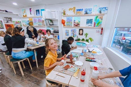 Children's Two Hour Art Workshop with Art-K
