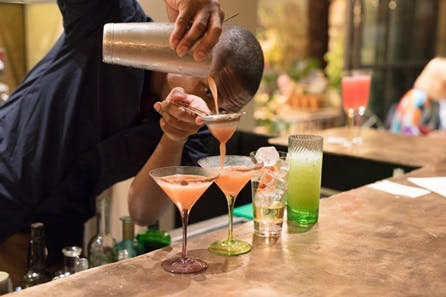 Cocktail Masterclass and Aperitivo for Two at La Goccia, Petersham Nurseries