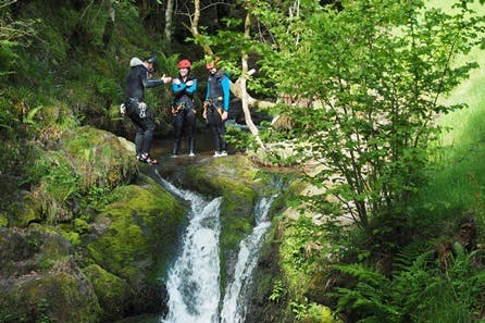 Discover Scotland's Canyons for a Family of Four with Private Guide