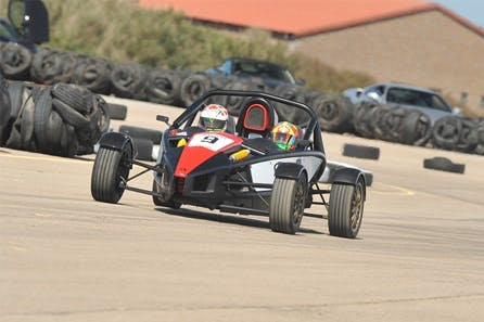 Drive a Supercharged Ariel Atom with a High Speed Passenger Ride in a Radical Race Car