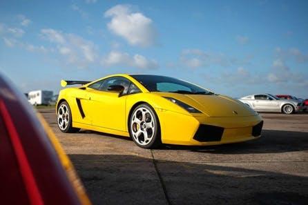 Drive Four Iconic Lamborghinis