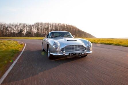 Drive the Iconic Aston Martin DB5 and V8 Vantage
