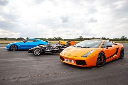 Drive The World's Top Three Supercars Experience
