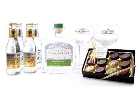 Emergency Craft Gin Kit and Truffles by Shakespeare Distillery