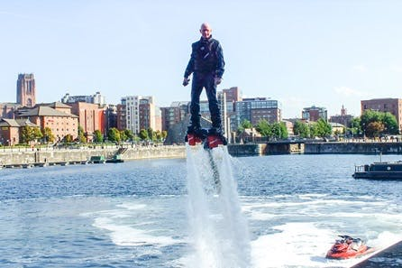 Extended Flyboarding for One