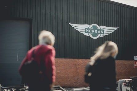 Family Morgan Motor Company Factory Tour