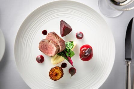 Five Course Tasting Menu with Champagne for Two at The Royal Crescent Hotel & Spa, Bath