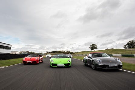 Five Supercar Thrill plus High Speed Passenger Ride and Photo
