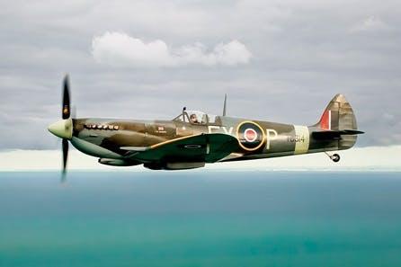 Fly Alongside a Spitfire - Castle Ashby Tour