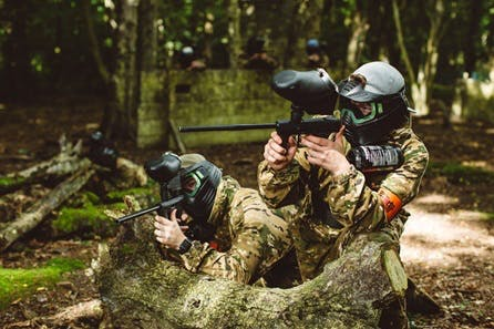 Forest Paintballing Day for Two With Pizza Hut Lunch
