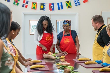 Full Day Class at Tan Rosie Caribbean Cookery School