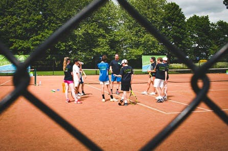 Full Day Tennis Coaching Clinic at Bisham Abbey National Sports Centre