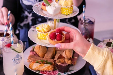Gin Afternoon Tea for Two at B Bakery Covent Garden