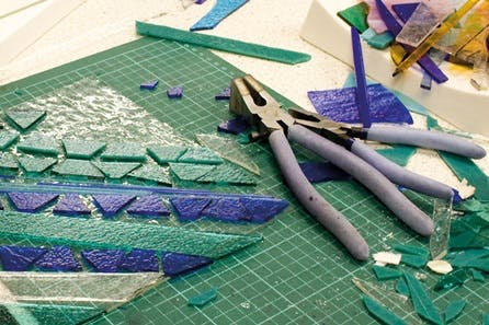 Glass Fusing Taster Day with Lunch