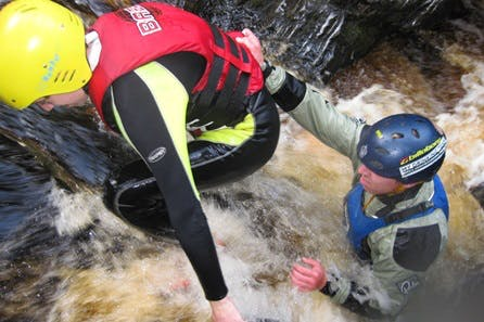 Gorge Walking for Two in the Cairngorms National Park