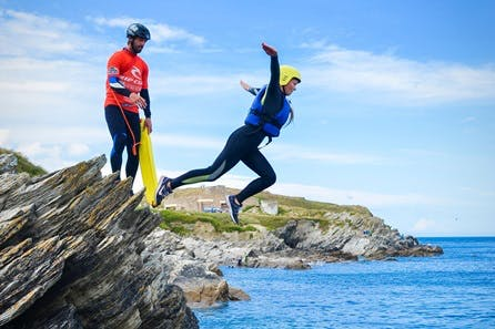 Guided Coasteering Experience for Two in Newquay