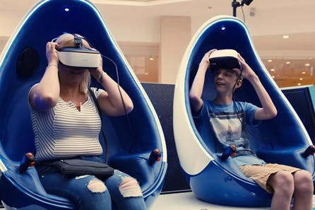 Heights, Bites and Frights Experience for Two at Immotion VR Cinema Pods