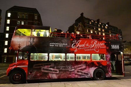 Jack The Ripper Guided Coach Tour in London for Two