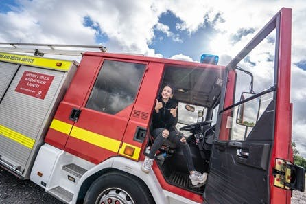 Junior Fire Engine Driving Experience