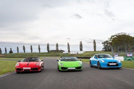 Junior Triple Supercar Driving Thrill