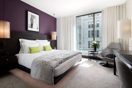 Luxury 5* London Break with Five Course Michelin-Starred Dinner and Champagne for Two at South Place Hotel