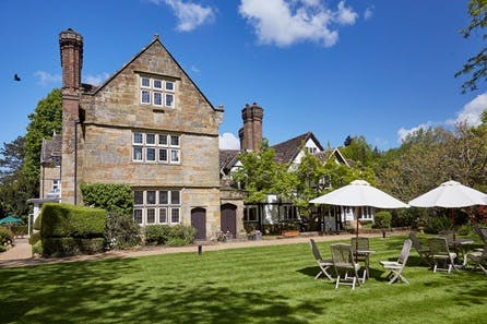Luxury One Night Spa Getaway with Dinner for Two at Ockenden Manor Hotel and Spa