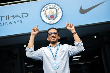 Manchester City Stadium and Football Academy Tour for One Adult