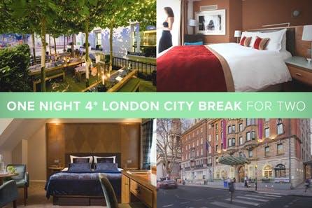 One Night 4* London City Break for Two
