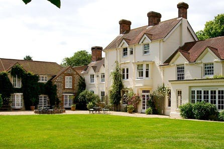 One Night Country Hotel Break with Dinner for Two at Esseborne Manor