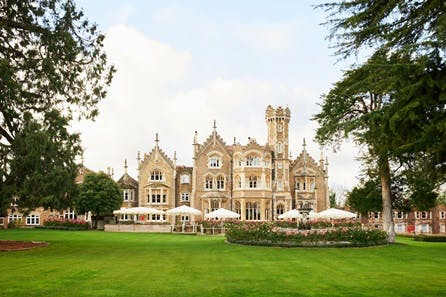 One Night Riverside Escape with Dinner for Two at The Oakley Court, Windsor