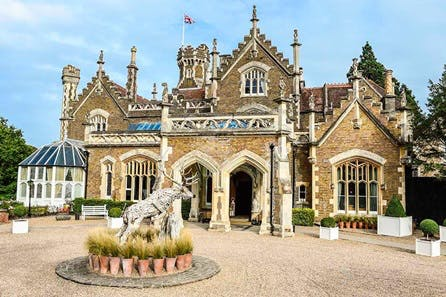 One Night Riverside Escape for Two at The Oakley Court, Windsor