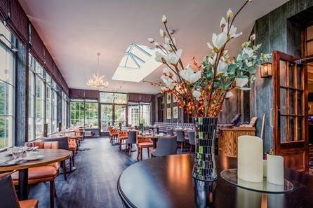 One Night Scottish Break with Dinner for Two at Dunkeld House Hotel