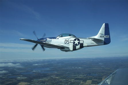 P51 Mustang WWII Fighter Simulator