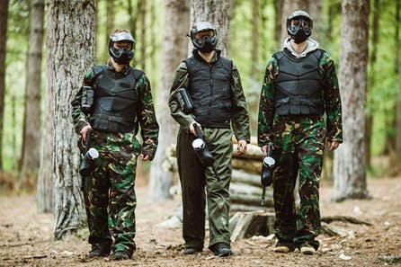 Paintballing for Ten