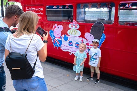 Peppa Pig Afternoon Tea Bus Tour for Two Adults and Two Children