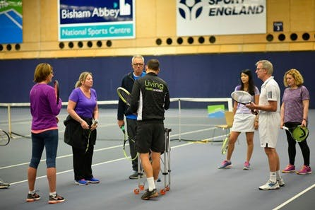 Private Indoor Tennis Lesson at Bisham Abbey National Sports Centre