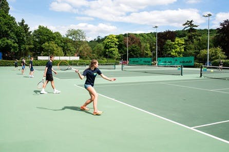 Private Outdoor Tennis Lesson at Bisham Abbey National Sports Centre