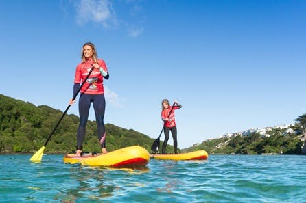 Private Stand-Up Paddleboard Lesson and Tour of Newquay Coastline for Two